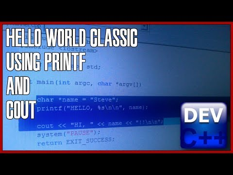 C++ programming for beginners 01 - Hello world