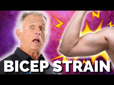 Absolute Best Self-Treatment for Bicep Tendonitis and/or Strain/Tear .