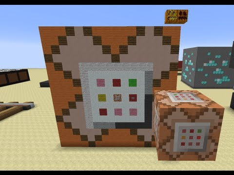 Minecraft Mega Blocks -- Ep 6: Command Block, Pumpkin and Jack'o'Lantern