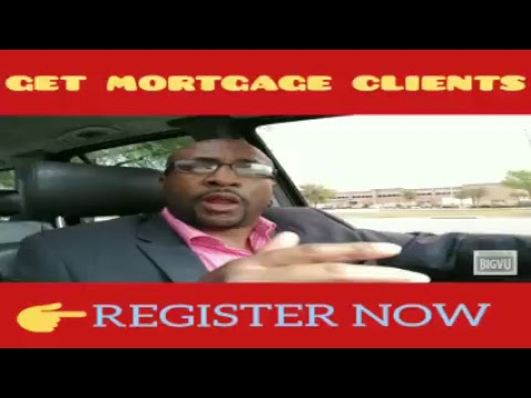 Get Mortgage Leads & Clients