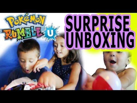 Pokemon Rumble U Surprise Unboxing (White Kyurem Exclusive) 5 NFC Toys