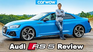 Audi RS5 review - see how quick it REALLY is!
