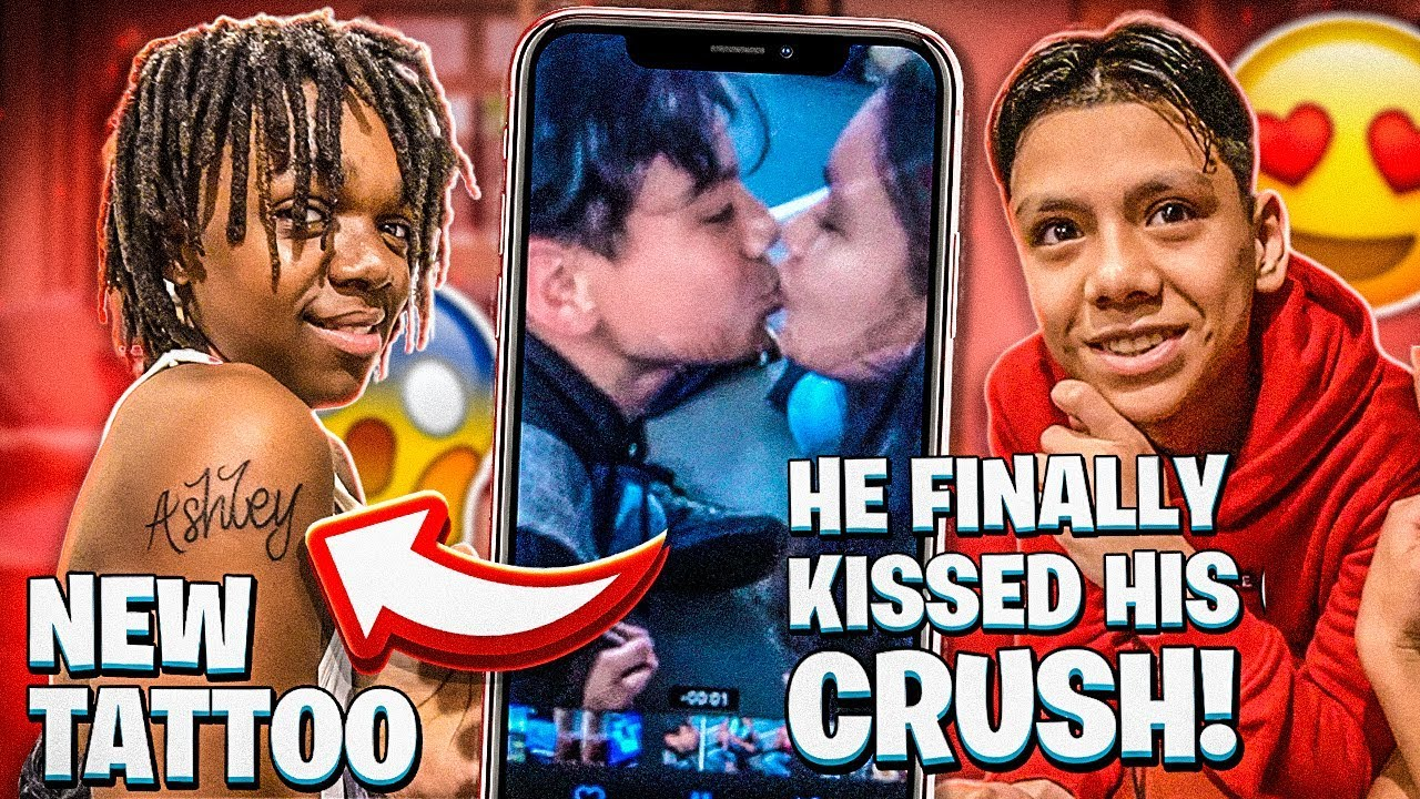 DEDE3X GOT A NEW TATTOO & ADONNIS KISSED HIS CRUSH!
