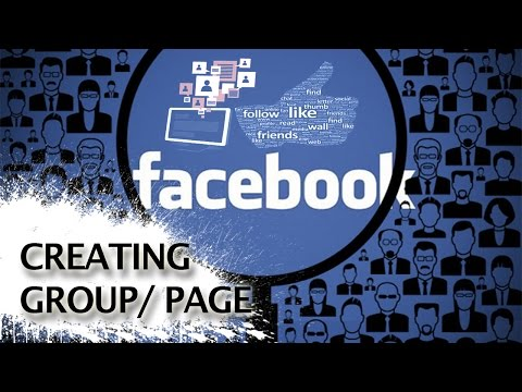 How to create a Facebook group / company / fan page | tutorial by TechyV