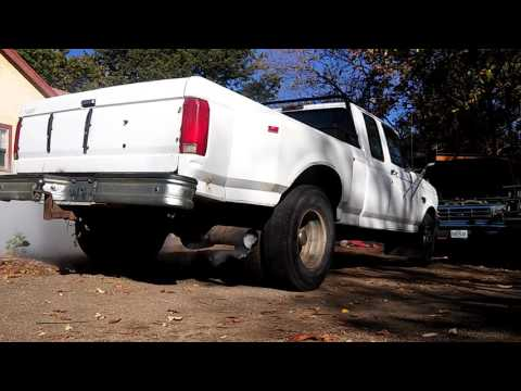 Ford f350 cold start with bad glowplugs