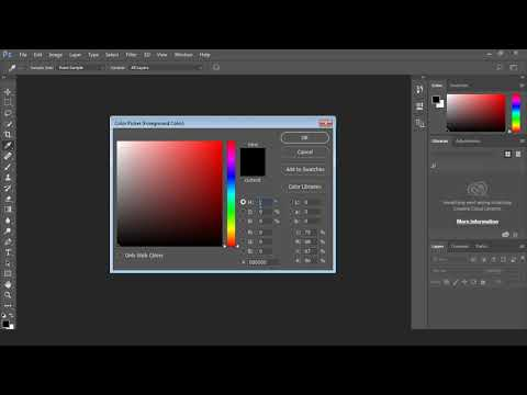 Photoshop Tutorial for Beginners - 12 - Color Picker