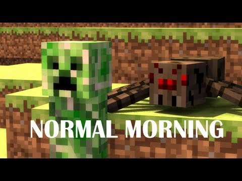A Normal Morning in Minecraft - Animation - Slamacow