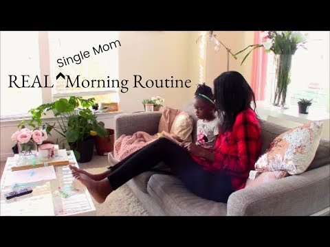 Newly Single Mom Morning Routine