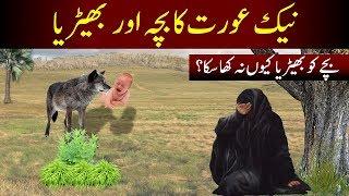 Neik Aurat ka Bacha or Bedhiya || Wolf and Virtuous woman || गुणी औरत || Sabaq Amoz