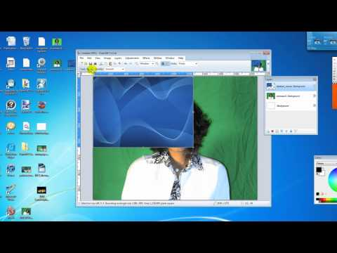 How to change a background picture using paint.net