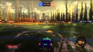 Rocket league-crazy 2v2 comeback