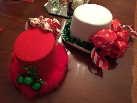 Bowdabra Christmas Hat Party
