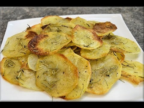 How to Make Baked Potato Chips! - CookwithApril