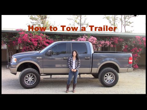 Towing a Trailer: How to hook up truck to trailer