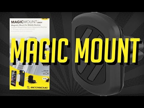 Scosche Magic Phone mount - Best in-car mobile phone holder | Unboxing