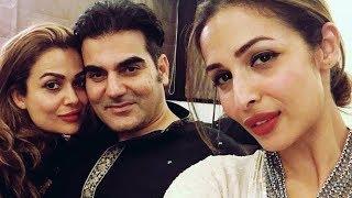 Arbaaz Khan & Malaika Arora Celebrating EID Together @ Salman