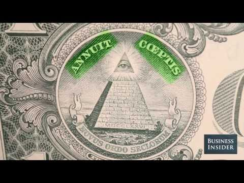 What The Pyramid On The Back Of A One Dollar Bill Means