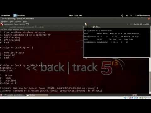 Cracking WPA & WPA2 key with Wi-fEye on Backtrack5 r3
