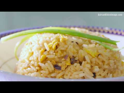 Simple Fried Rice with Butter and Eggs - Cooking Recipe