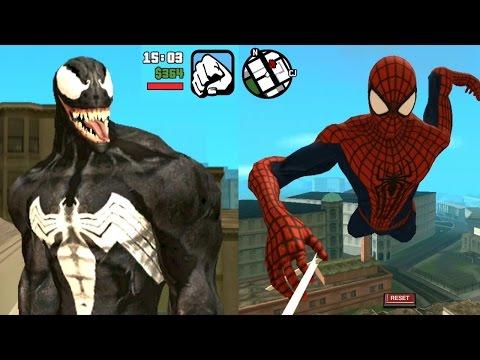 GTA SA Android Spiderman Mod