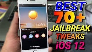 NEW* Top 7 Cydia Tweaks Compatible iOS 12-12 1 2 (Unc0ver