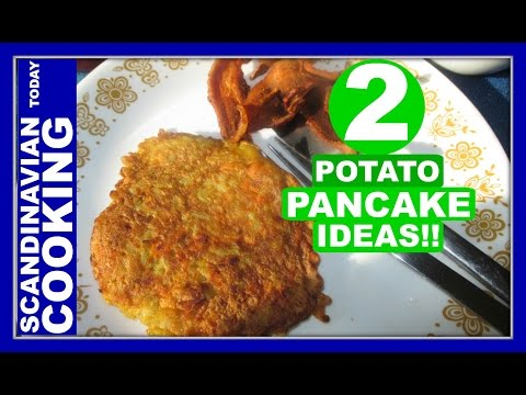 Raggmunk - Crispy Swedish Potato Pancake Recipes