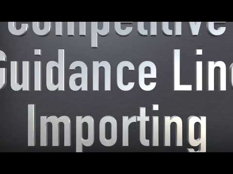AFS Pro 700 Display: Competitive Guidance Line Importing
