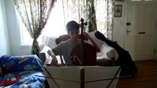 McGlynn String Ensemble Video Recording: Brandenburg Concerto No. 5, Movement 1 -- Cello