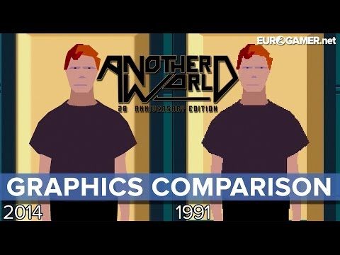 Another World: 20th Anniversary Edition - Graphics Comparison - Eurogamer