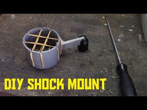How to make a DIY microphone shock mount (AKIO TV)