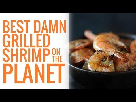 Best Damn Grilled Shrimp on the Planet