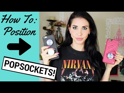PopSockets - How To Position a PopSocket - How To Put On a PopSocket