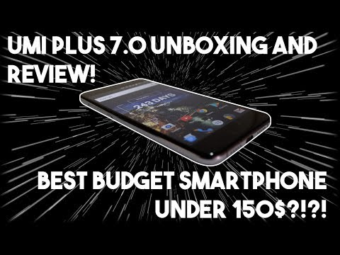 Umi Plus Android 7.0 Unboxing and Review! Best Budget smartphone?!?!