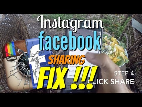 Instagram NOT sharing to Facebook???  PROBLEM SOLVED!!!