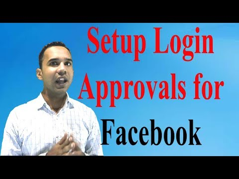 How to Set Up Login approvals for facebook in hindi/urdu ? | Sumit Nain
