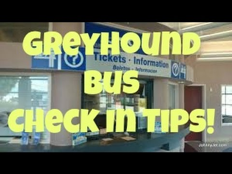 How to Check In at the Greyhound Bus Station