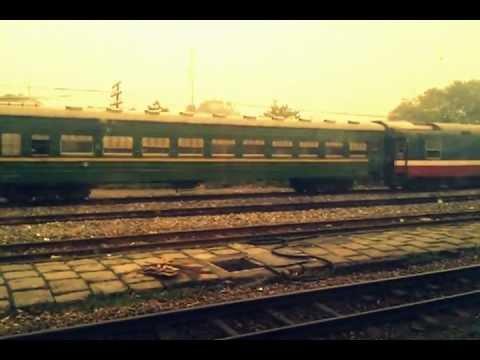 Leaving HANOI to HAI PHONG by train (Vietnam)