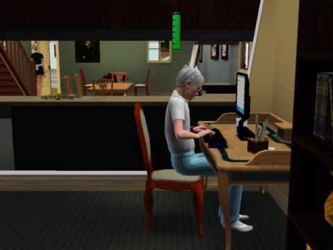 The Sims3 - Sim writing book