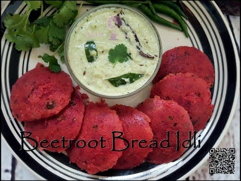 Instant Beetroot Idli | In 10 Minutes, Healthy Breakfast Recipe |  Beetroot - Bread idli