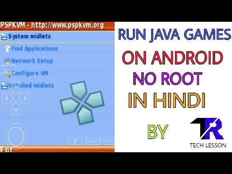 How to play java games on android in ppsspp no root in hindi