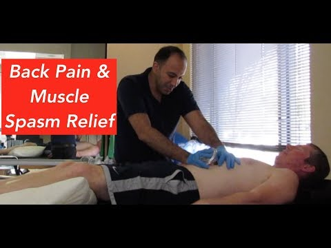 Back Pain & Muscle Spasm Relief Treatment