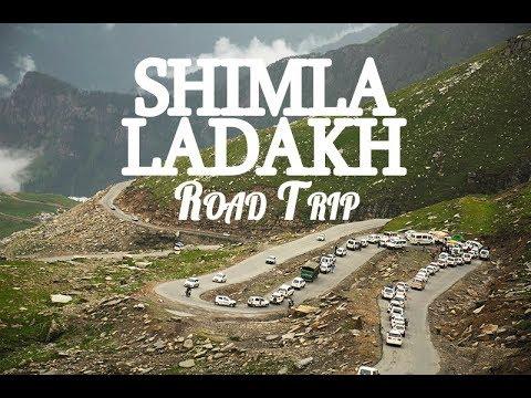 Shimla Manali Leh Ladakh Road Trip June-July 2017