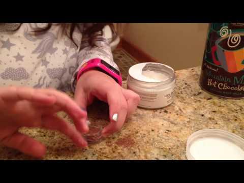 Part 1 hot cocoa lip balm DIY
