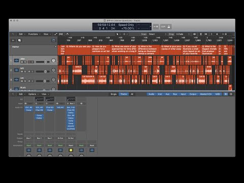 Logic Pro X Workflow Walkthrough: 3 Point Perspective: The Illustration Podcast