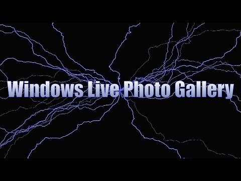 Windows Live Photo Gallery 2012 - Using the Crop tool