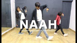Naah | Harrdy Sandhu | Dance Cover | Bollywood Dance Choreography | Beginner | Deepak Tulsyan