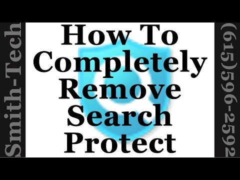 How To Completely Remove Search Protect by Conduit