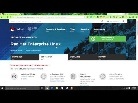 Download Red Hat Linux Enterprise Server 7