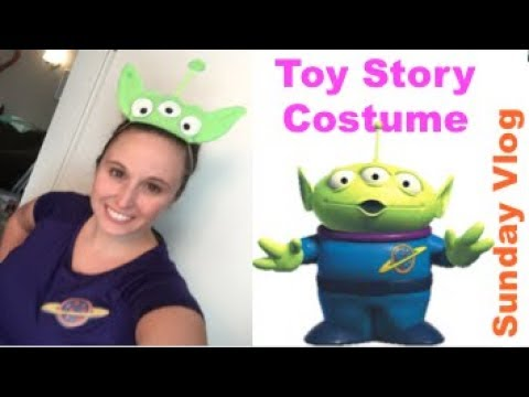 Sunday Vlog: Toy Story Costume for Disneyland Half Marathon! | Aug 27