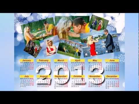 New 2013 Calendar Samples